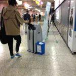 雨が降った日のソウルの地下鉄サービス