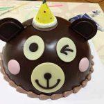 韓国の可愛いキャラクターケーキの無残な最期