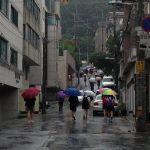 ソウルも本格的な梅雨に突入