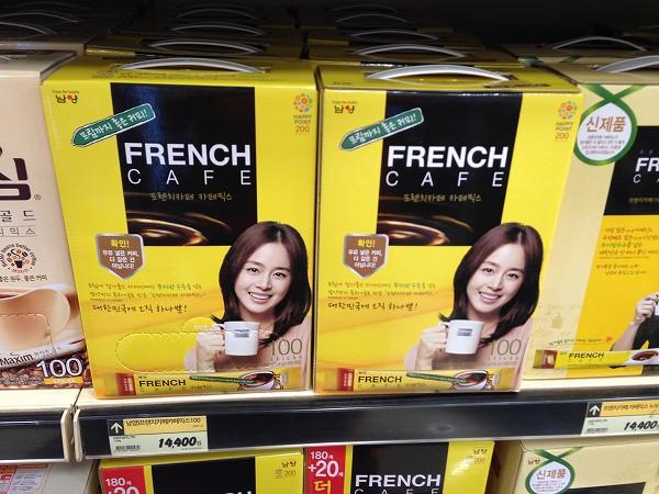韓国 インスタントコーヒー
