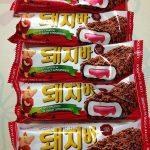 テジバー(돼지바)は韓国の最強庶民派アイス!でも意味がね~^^;