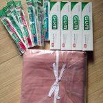 転送コムで日本の商品を韓国へ送ってみた