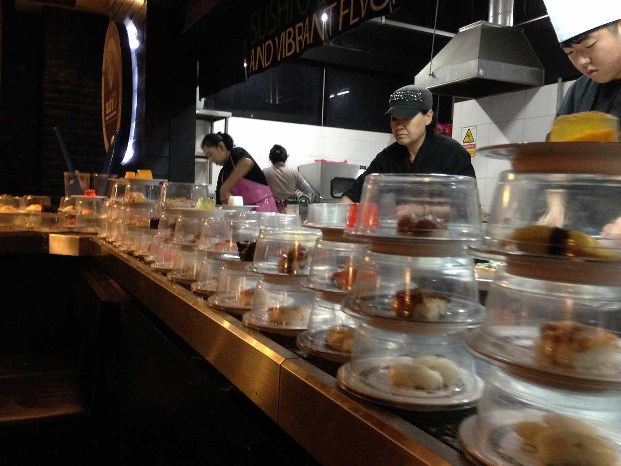 韓国 回転寿司