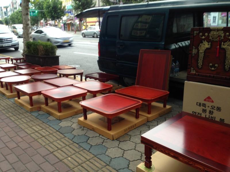 韓国 テーブル