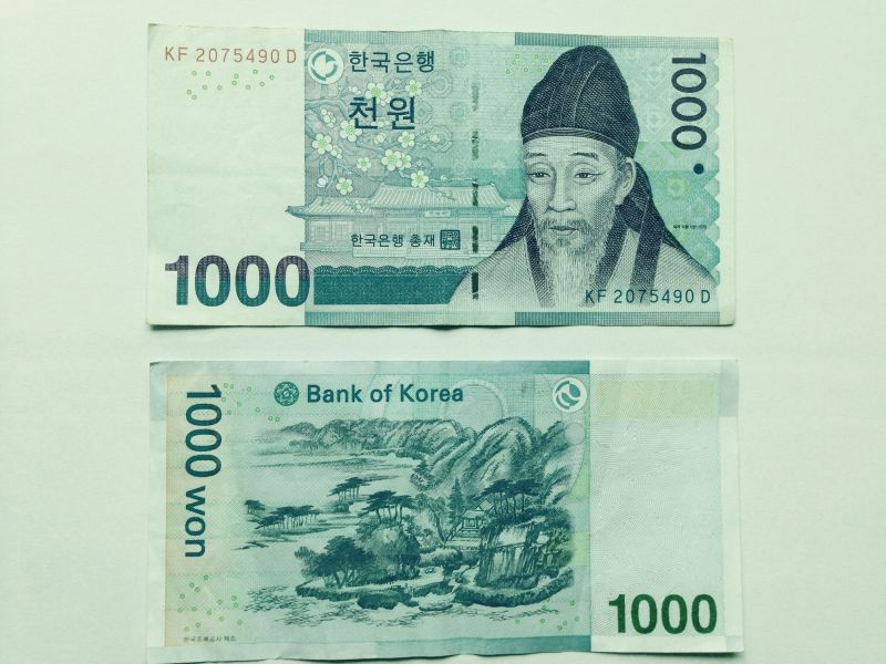 韓国 お金 千ウォン