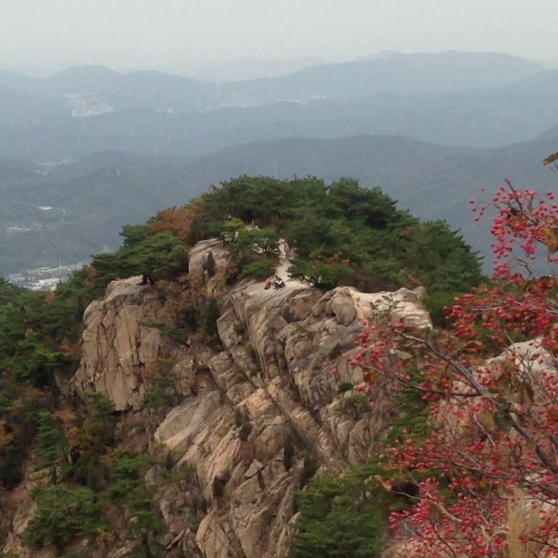 韓国 登山