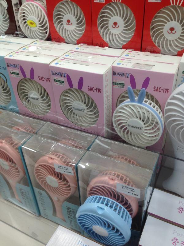 ハンディ扇風機 韓国
