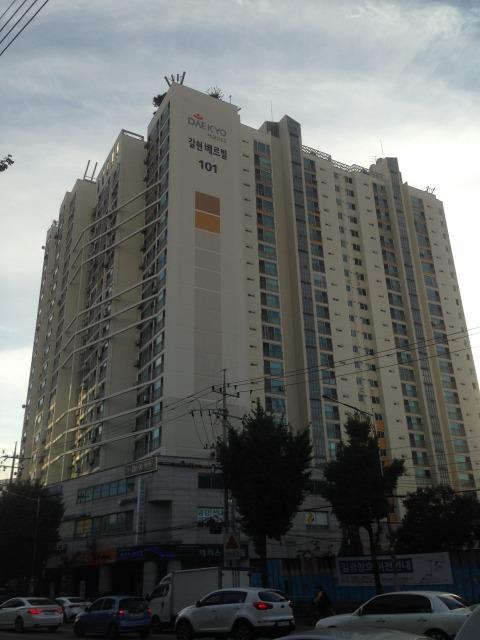 韓国 アパート