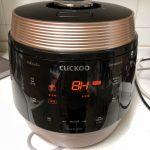韓国CUCKOOの炊飯器の使い方と美味しいご飯への道のり