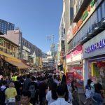 韓国のホンデは服の値段が安い!若者のショッピングには絶対おすすめ
