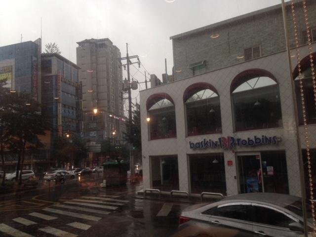 韓国 梅雨
