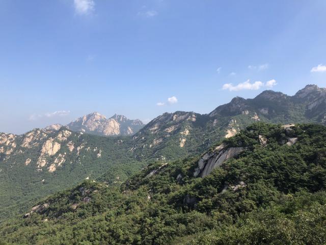 北漢山 登山