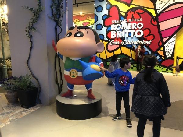 クレヨンしんちゃん 韓国