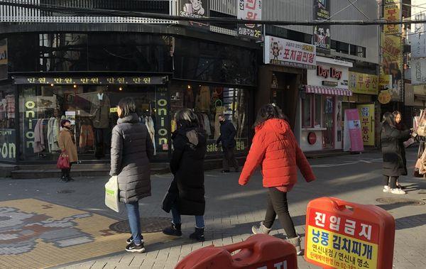 韓国 12月 服装