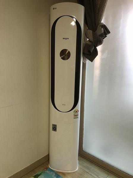韓国 縦型エアコン
