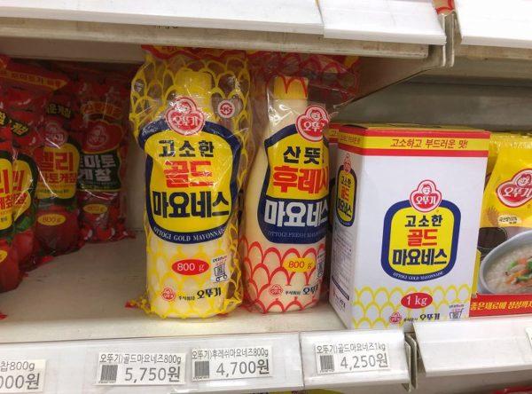 韓国 マヨネーズ