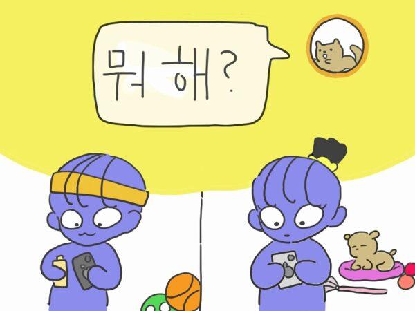 何してるの 韓国語