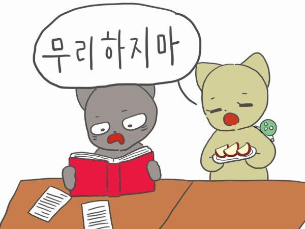 無理しないで 韓国語