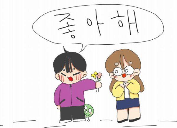 韓国語 チョアヘ