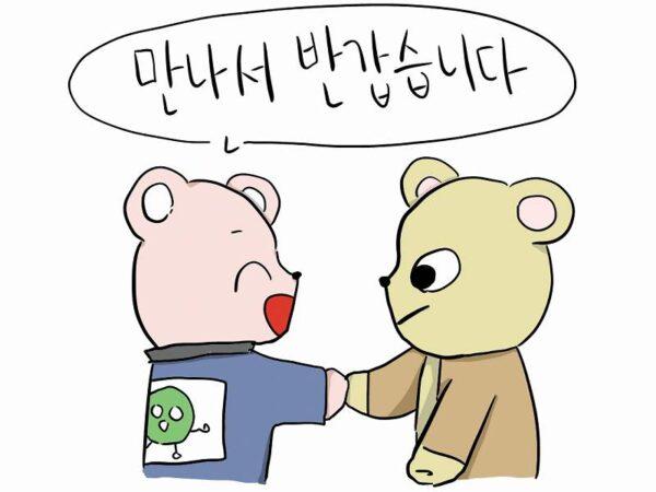 会えて嬉しいです 韓国語