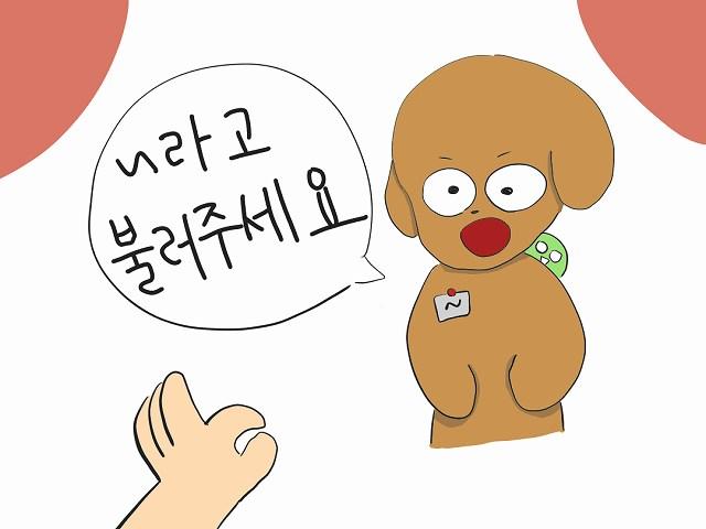と呼んでください 韓国語